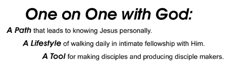 ONE on ONE with GOD Path/Lifestyle/Tool – V2