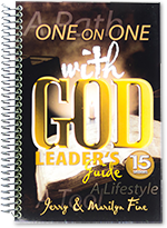ONE on ONE with GOD Leader's Guide Cover